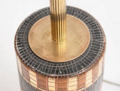 Marcello Fantoni Mid Century Bitossi Table Lamp Attributed to Aldo Londi - 838300