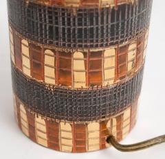Marcello Fantoni Mid Century Bitossi Table Lamp Attributed to Aldo Londi - 838303