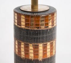 Marcello Fantoni Mid Century Bitossi Table Lamp Attributed to Aldo Londi - 838304