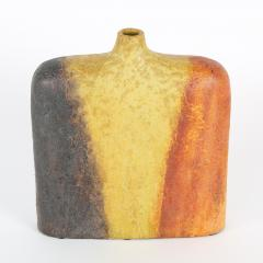Marcello Fantoni Orange Yellow and Brown Marcello Fantoni Vase circa 1960s - 674473