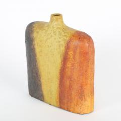 Marcello Fantoni Orange Yellow and Brown Marcello Fantoni Vase circa 1960s - 674474