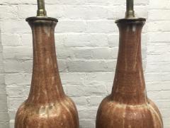 Marcello Fantoni Pair of Ceramic Italian Lamps by Marcello Fantoni for Raymor - 1769782