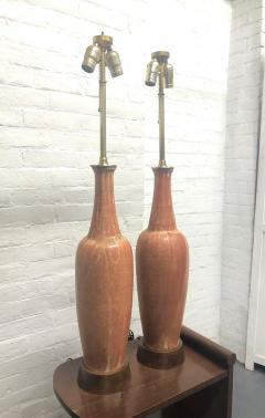 Marcello Fantoni Pair of Ceramic Italian Lamps by Marcello Fantoni for Raymor - 1769786