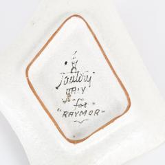 Marcello Fantoni Pink Ceramic Tray with Three Ladies by Marcello Fantoni - 466303