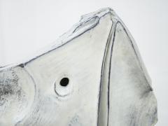 Marcello Fantoni Rhinoceros ceramic sculpture by Marcello Fantoni 1973 - 1050667