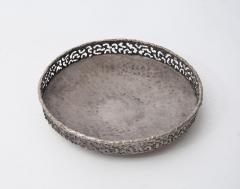 Marcello Fantoni Torch cut and hammered metal bowl by Marcello Fantoni - 1904200