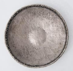 Marcello Fantoni Torch cut and hammered metal bowl by Marcello Fantoni - 1904202