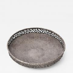 Marcello Fantoni Torch cut and hammered metal bowl by Marcello Fantoni - 1907061