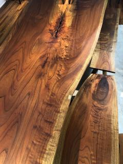 Marcelo Villegas Marcelo Villegas 14 5 ft long cedar table with four benches - 1255400