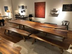 Marcelo Villegas Marcelo Villegas 14 5 ft long cedar table with four benches - 1256286