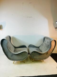 Marco Zanuso HIGH STYLE LOUNGE CHAIRS IN THE MANNER OF MARCO ZANUSO - 2060980