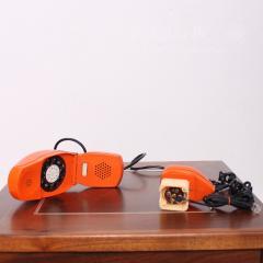 Marco Zanuso MOMA Grillo Folding Orange Telephone ITALY Marco Zanuso Richard Sapper 1966 - 1700424
