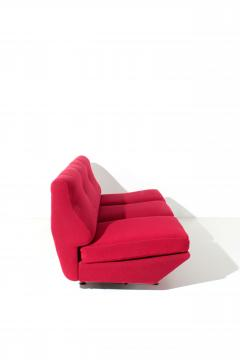 Marco Zanuso Marco Zanuso Sleep o Matic MidCentury sofa bed in red fabric 1954 - 1331288