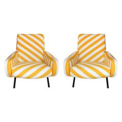 Marco Zanuso Pair of Armchairs Mod Lady Designed by Marco Zanuso and Edited by Arflex - 509688