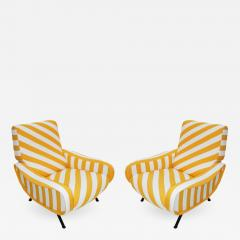 Marco Zanuso Pair of Armchairs Mod Lady Designed by Marco Zanuso and Edited by Arflex - 513213