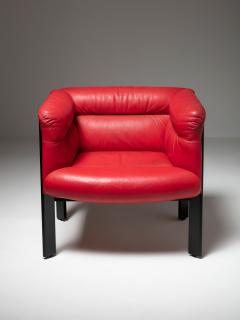 Marco Zanuso Pair of Interlude Chairs by Marco Zanuso for Poltrona Frau - 1137581