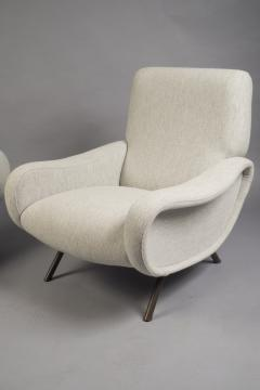Marco Zanuso Pair of Lady Armchairs by Marco Zanuso for Arlfex Italy circa 1950 - 523968