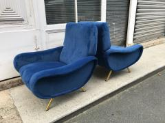 Marco Zanuso Pair of Lady Armchairs for Arflex Italy 1950s - 2017244