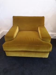 Marco Zanuso Pair of Marco Zanuso square armchairs - 1793472