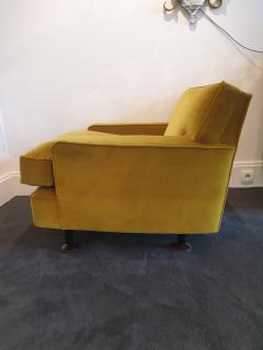 Marco Zanuso Pair of Marco Zanuso square armchairs - 1793476