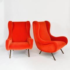 Marco Zanuso Pair of Senior armchairs - 2023626