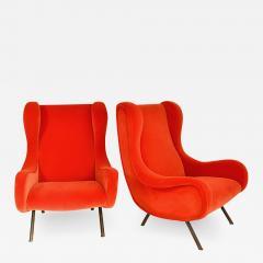 Marco Zanuso Pair of Senior armchairs - 2024008