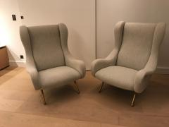 Marco Zanuso Pair of Senior armchairs for Arflex - 2116610
