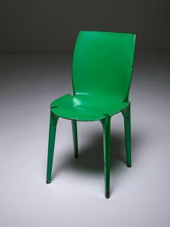 Marco Zanuso Set of Four Lambda Chairs by Richard Sapper and Marco Zanuso for Gavina - 898275