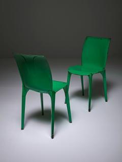 Marco Zanuso Set of Four Lambda Chairs by Richard Sapper and Marco Zanuso for Gavina - 898287