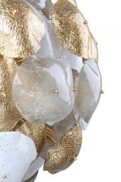 Mare Murano Glass Sputnik Chandelier with 24 Carat Gold Leaf - 1475028