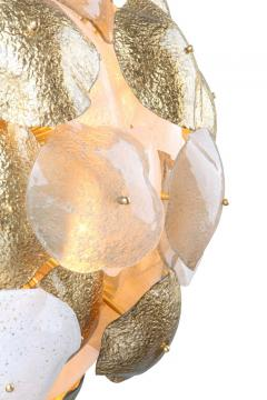 Mare Murano Glass Sputnik Chandelier with 24 Carat Gold Leaf - 1475030