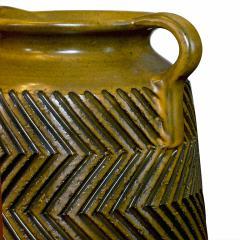 Mari Simmulsson Striking Pair of Zig Zag Floor Vases by Mari Simmulson for Upsala Ekeby - 1482664