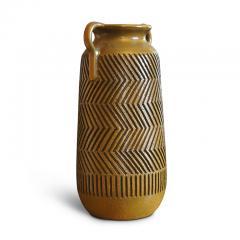 Mari Simmulsson Striking Pair of Zig Zag Floor Vases by Mari Simmulson for Upsala Ekeby - 1482665
