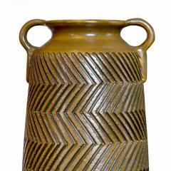 Mari Simmulsson Striking Pair of Zig Zag Floor Vases by Mari Simmulson for Upsala Ekeby - 1482668