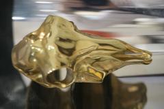 Maria Pergay Lampe Totem Pair of Gilt Bronze Sconces - 444180