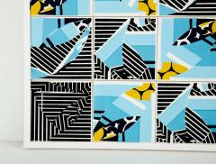 Mariana Lloyd Contemporary Composition with Limited Edition Tiles by Brazilian Designer - 1251993