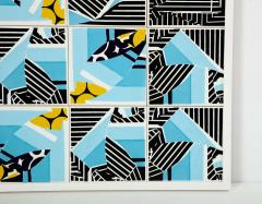 Mariana Lloyd Contemporary Composition with Limited Edition Tiles by Brazilian Designer - 1251996