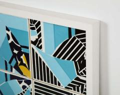 Mariana Lloyd Contemporary Composition with Limited Edition Tiles by Brazilian Designer - 1251998