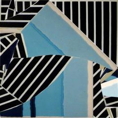 Mariana Lloyd Contemporary Composition with Limited Edition Tiles by Brazilian Designer - 1252006