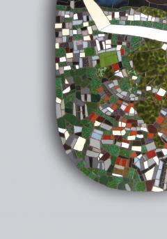 Mariana Lloyd One of a Kind Contemporary Mosaic ML0106 by Brazilian Artist Mariana Lloyd 2020 - 2039569