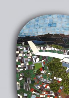 Mariana Lloyd One of a Kind Contemporary Mosaic ML0106 by Brazilian Artist Mariana Lloyd 2020 - 2039570