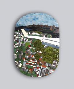 Mariana Lloyd One of a Kind Contemporary Mosaic ML0106 by Brazilian Artist Mariana Lloyd 2020 - 2039575