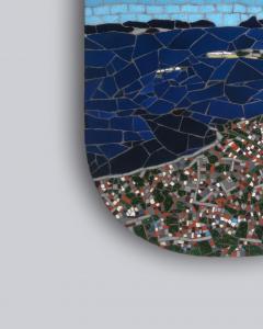 Mariana Lloyd One of a Kind Contemporary Mosaic ML0218 by Brazilian Artist Mariana Lloyd 2020 - 2041142