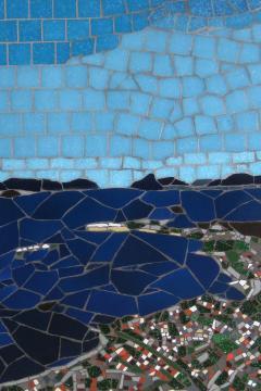Mariana Lloyd One of a Kind Contemporary Mosaic ML0218 by Brazilian Artist Mariana Lloyd 2020 - 2041145