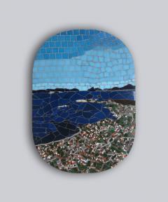 Mariana Lloyd One of a Kind Contemporary Mosaic ML0218 by Brazilian Artist Mariana Lloyd 2020 - 2041148