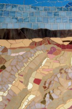 Mariana Lloyd One of a Kind Contemporary Mosaic ML1701 by Brazilian Artist Mariana Lloyd 2020 - 2040307