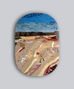 Mariana Lloyd One of a Kind Contemporary Mosaic ML1701 by Brazilian Artist Mariana Lloyd 2020 - 2040314