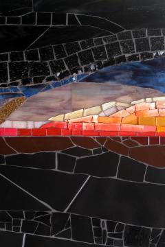 Mariana Lloyd One of a Kind Contemporary Mosaic ML2711 by Brazilian Artist Mariana Lloyd 2020 - 2040276