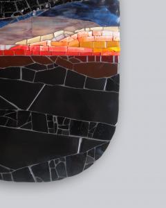 Mariana Lloyd One of a Kind Contemporary Mosaic ML2711 by Brazilian Artist Mariana Lloyd 2020 - 2040279