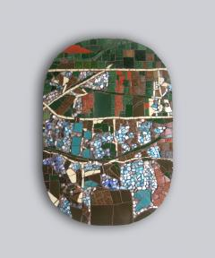Mariana Lloyd One of a Kind Contemporary Mosaic ML2909 by Brazilian Artist Mariana Lloyd 2020 - 2040229